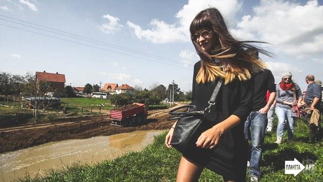 """Dobitnica treće nagrade u kategoriji vizuelne umetnosti na konkursu """"Planeta ART 2014"""""""