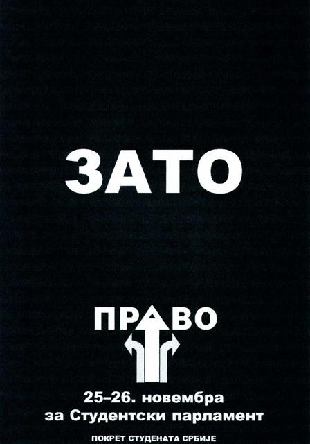 "Poster ""ZATO"""
