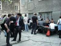 Učesnici konferencije u neobaveznoj diskusiji