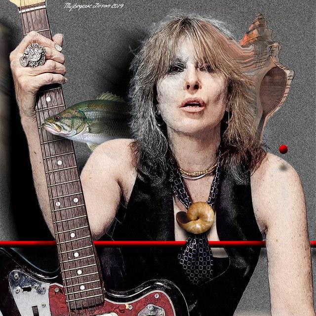 Chrissie Hynde - slika Zorana Mujbegovica