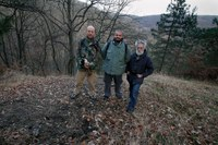 Deo ekipe filma ArheologIja: Metalla Tricornensia na Kosmaju - snimio Časlav Petrović