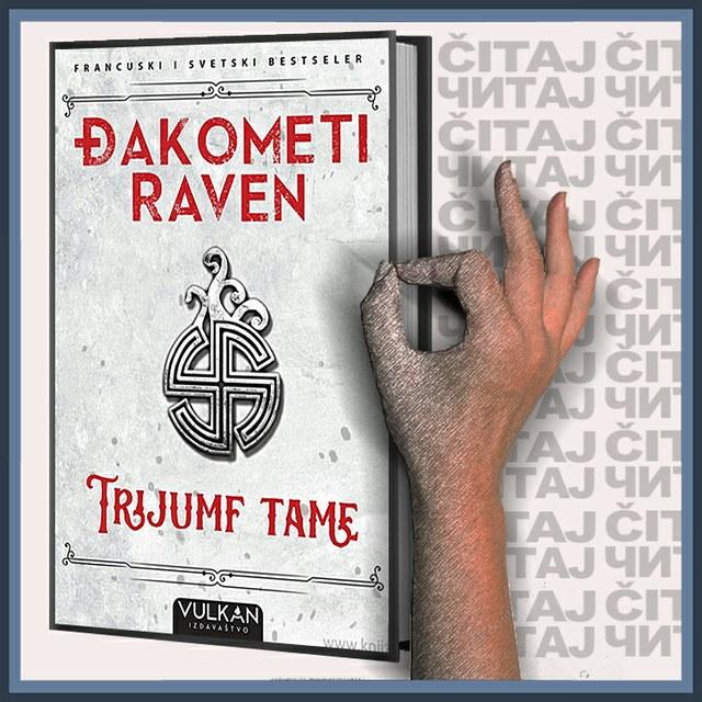 Erik Đakometi i Žak Raven - Trijumf tame (ilustracija)