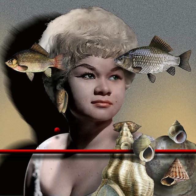 Etta Jones slika Zorana Mujbegovica