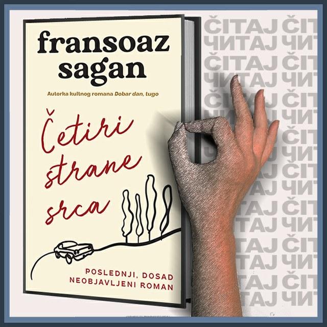 Fransoaz Sagan - Četiri strane srca (ilustracija)