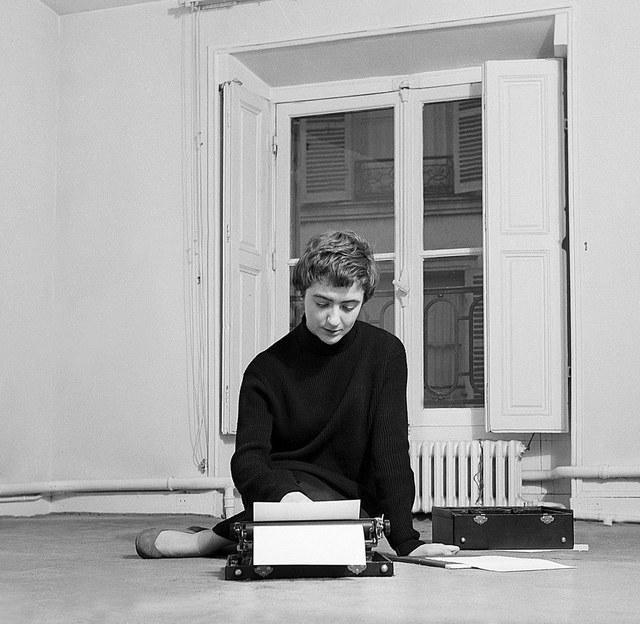 Fransoaz Sagan - portret
