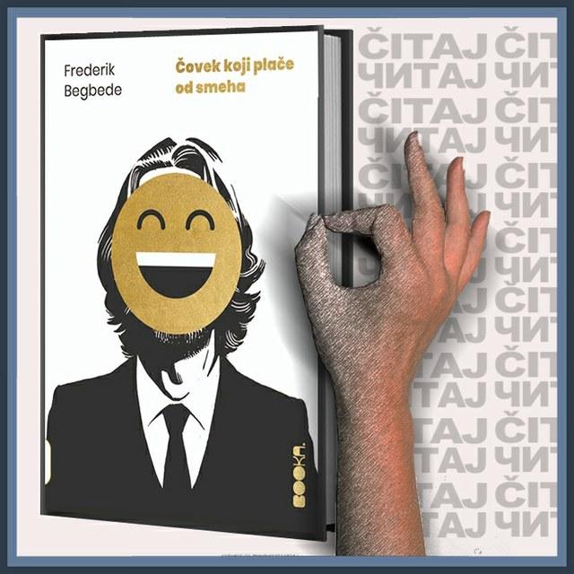 Frederik Begbede - Čovek koji plače od smeha (ilustracija)
