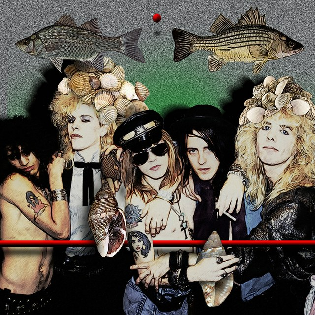 Guns N Roses - slika Zorana Mujbegovica