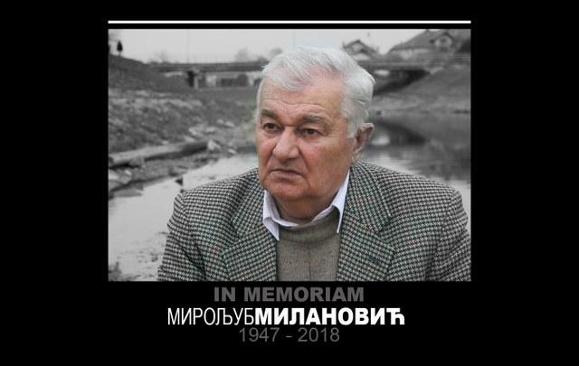 In Memoriam Miroljub Milanović