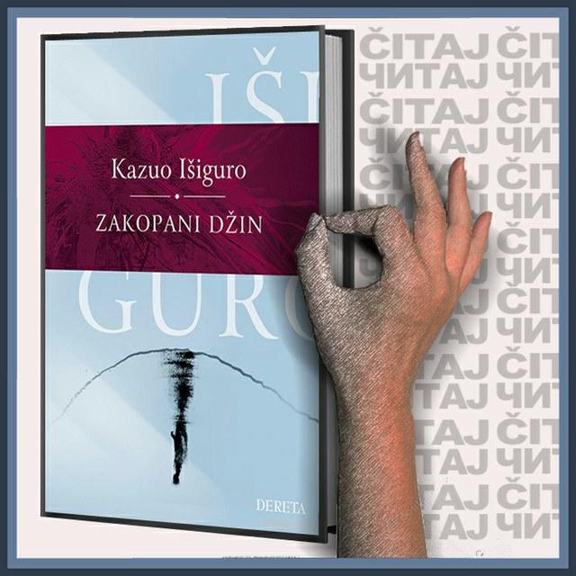 Kazuo Išiguro - Zakopani džin (ilustracija)