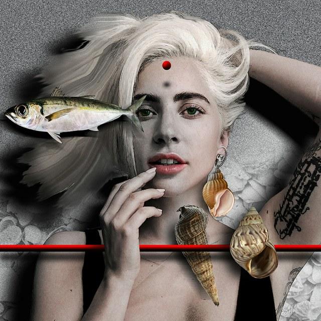 Lady Gaga - slika Zorana Mujbegovica