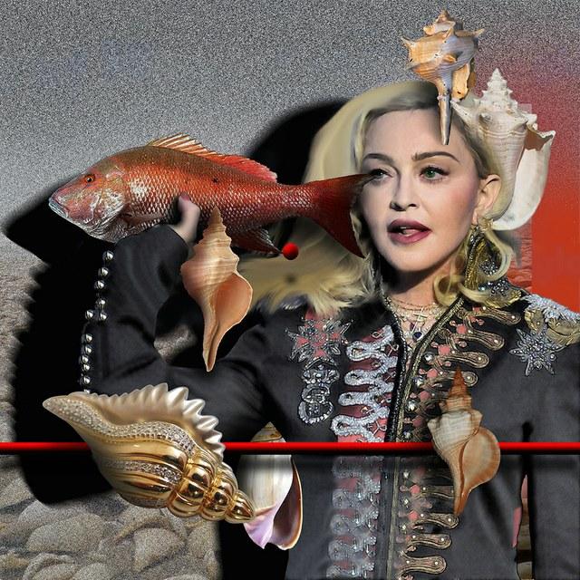 Madonna - slika Zorana Mujbegovica