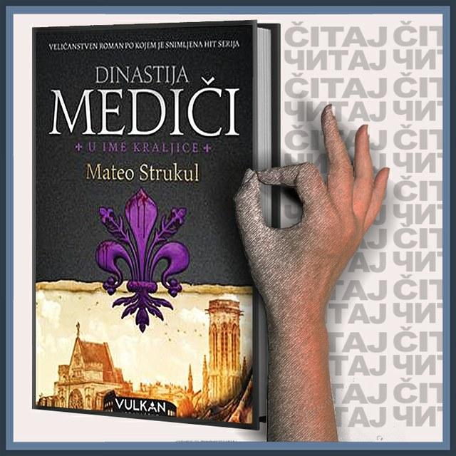 Mateo Strukul - U ime kraljice, Dinastija Mediči (ilustracija)