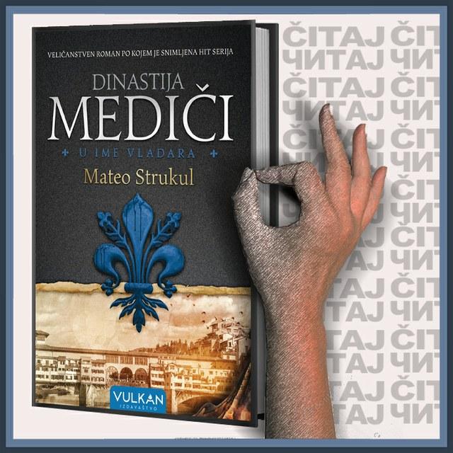 Mateo Strukul - U ime vladara: Dinastija Mediči (ilustracija)