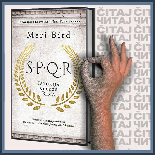 Meri Bird - S.P.Q.R Istorija starog Rima (ilustracija)