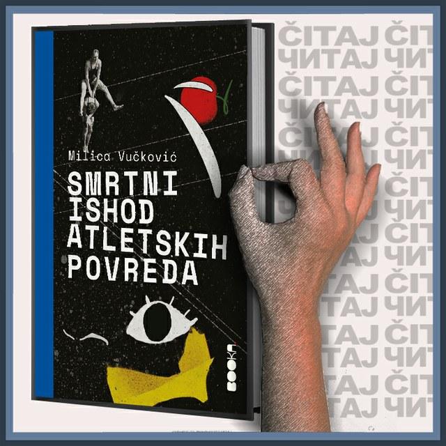 Milica Vučković – Smrtni ishod atletskih povreda (ilustracija)