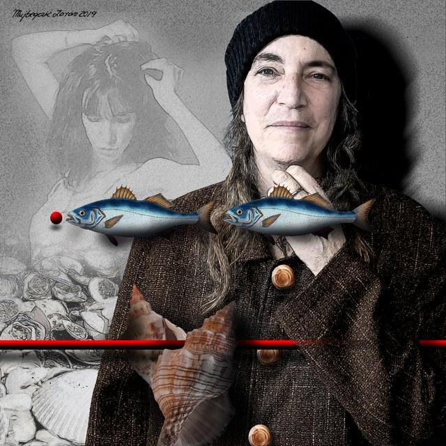 Patti Smith - slika Zorana Mujbegovića