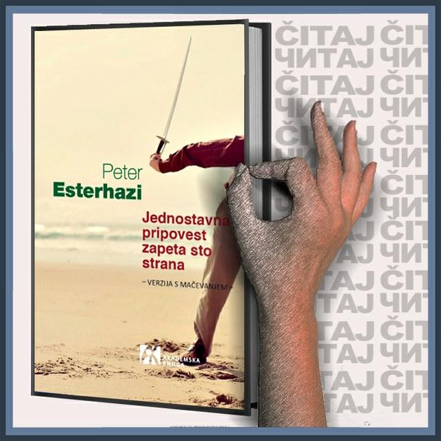 Peter Esterhazi - Jednostavna pripovest zapeta sto strana (ilustracija)