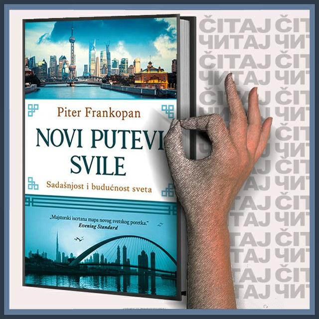Piter Frankopan - Novi putevi svile (ilustracija)