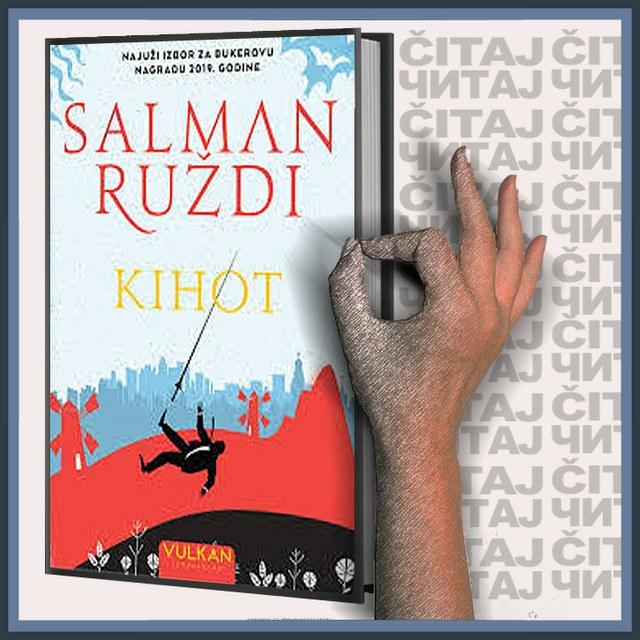Salman Ruždi - Kihot (ilustracija)