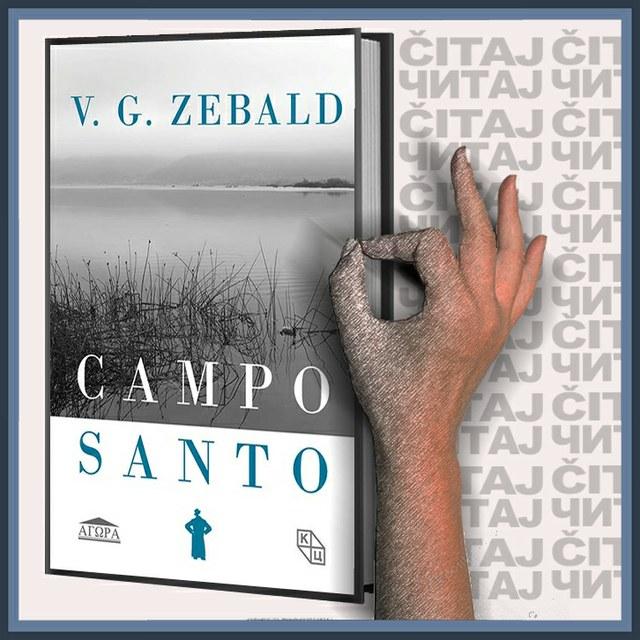 V.G. Zebald - Campo santo (ilustracija)