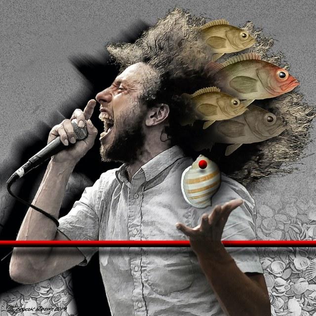 Zack de la Rocha - slika Zorana Mujbegovica