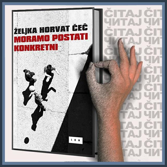 Željka Horvat Čeč - Moramo postati konkretni (ilustracija)